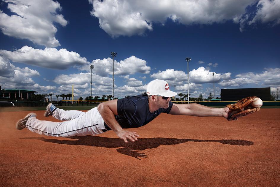 Baseball Photo Retouching Post Work